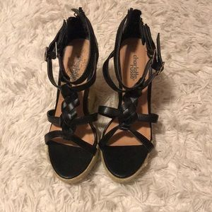 Black wedges from Charlotte Russe !
